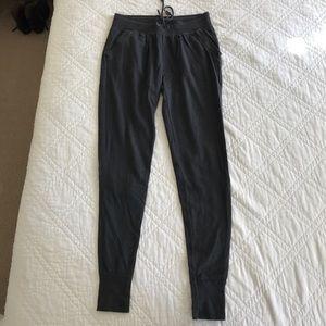 Aerie dark grey joggers sweatpants